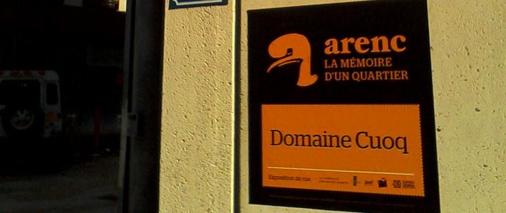 """Exposition """"Arenc, mémoire d'un quartier"""""""