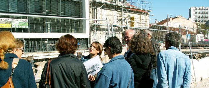 Visites exploratoires «Arenc, mémoire d'un quartier»