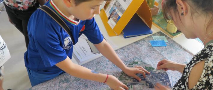 Exposition  «L'urbanisme de Toulon vu par ses enfants»