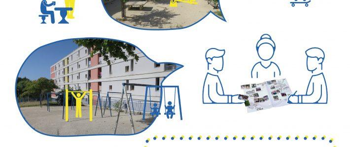 Concertation sur l'aménagement d'espaces extérieurs de la Viste