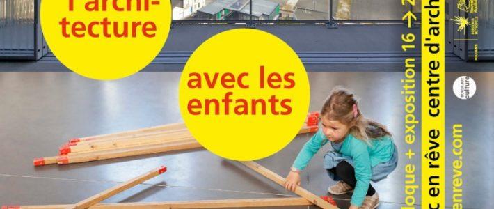 """Colloque """"Partager l'architecture avec les enfants et les jeunes"""""""